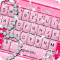 Pink Sparkling Diamond Princess Keyboard Theme 6.9.12.2018