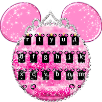 Ícone do Pink Cute Minny Bowknot Keyboard Theme