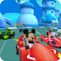 Ícone do Mickey Roadster: Racing Clubhouse
