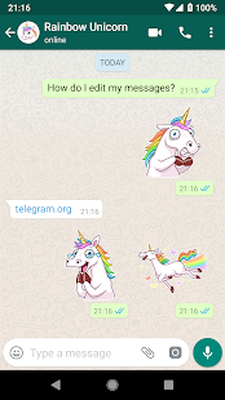 WhatsApp Stickers - Telegram Android - Free Download
