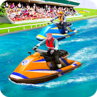 Speed Boat Jet Ski Racing Simgesi