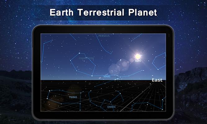 Tải miễn phí APK bầu trời bản đồ live- đi bộ sao hướng dẫn,chòm sao