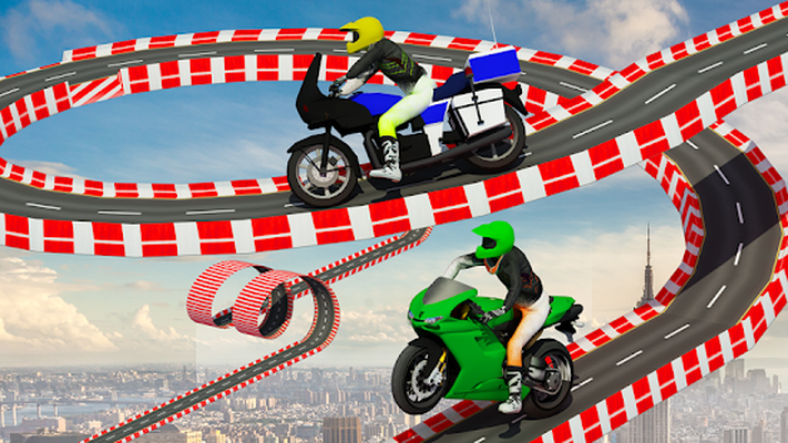 Stunt Bike Impossible Tracks-Race Moto Drive Game Android - Free ... Screenshots of Stunt Bike Impossible Tracks-Race Moto Drive Game
