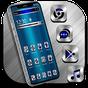 Tema Blue Silver Metal Launcher 1.1.6