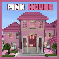 Icône apk Pink Princess House maps for MCPE