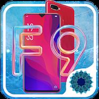 ไอคอน APK ของ Oppo F9 launcher , Oppo F9 theme