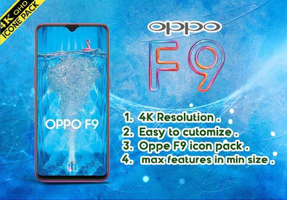 ดาวน์โหลด Oppo F9 launcher , Oppo F9 theme 5 1 APK แอนดรอยด์ฟรี
