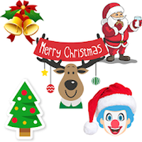 ไอคอนของ Christmas Stickers For Whatsapp - WAStickerApps