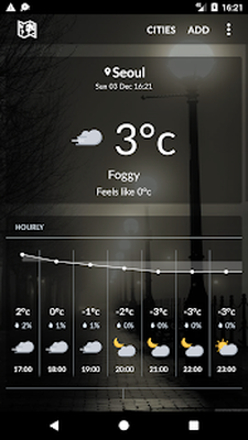 South Korea weather Android - Free Download South Korea