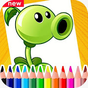Plants vs Zombies Coloring Book 7.0 APK