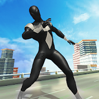 Icoană apk Amazing Rope Hero - City Spider