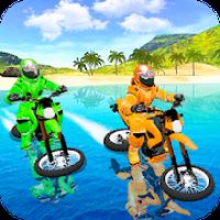 Waterpark Bike Racing apk icono