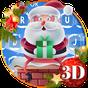 Cute Santa Christmas Keyboard Theme 10001009