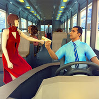 Icoană Passenger Bus Taxi Driving Simulator