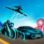 Tron Bike Stunt Transform Car Driving Simulator 1.1 APK