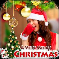 Kerst Fotolijst: Cake & Fotokaart Maker APK icon