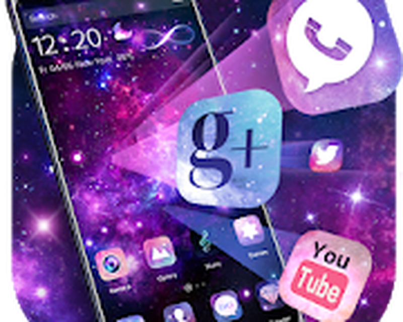 3d Fantasy Galaxy Theme Android 3d Theme Hd Live Wallpaper