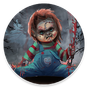 Scary Doll Halloween Theme - Wallpapers and Icons 1.0.18