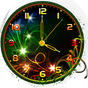 Neon Flower Clock Live Wallpaper 1.0