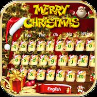 Ícone do Alegre Natal teclado tema Merry Christmas