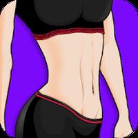 Female Flat Stomach Workout icon