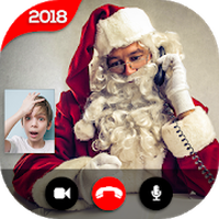 Icoană apk Real Santa Claus Video Call