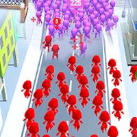 Biểu tượng apk The Crowd City - Biggest Crowd City Popular War!