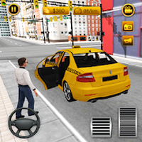 New York City Taxi Driver - Driving Games Free Simgesi