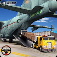 Airport Vehicle Cargo Plane Transport Truck Driver APK icon