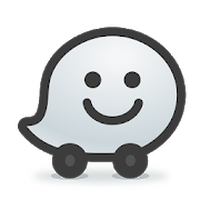 Icône de Waze Social GPS Maps & Traffic