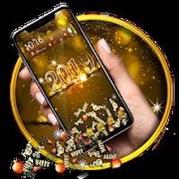 Ikona apk 2019 Golden Shiny Celebration New Year Gravity The