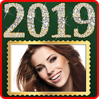 happy new year photo frame app download
