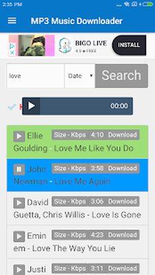 MP3 Music Downloader & Free MP3 Screenshot Apk 1