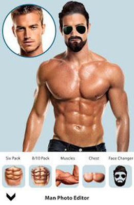 Man Fit Body Photo Editor : Man Abs Editor Android - Free