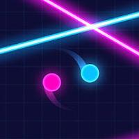공 VS 레이저 : 반사 운동 게임 아이콘