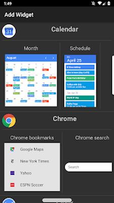 google search widget free download