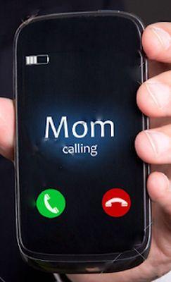 Fake Mom / Dad call and message screenshot apk 0