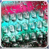 Color Water Drops Keyboard Theme icon