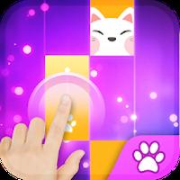 Magic Cat Piano Tiles - Magic Tile Kpop Piano Idol