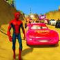 Süper Kahramanlar İmkansız Araba Dublör Yarış Oyun 1.1