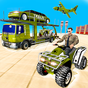 US Army Quad Bike limo Car Transporter Truck 1.0.5