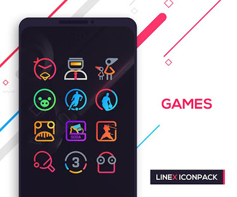 LineX Icon Pack Android - Free Download LineX Icon Pack App