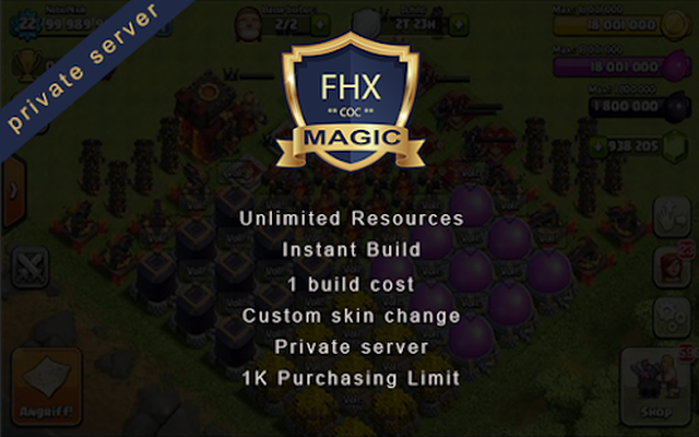 Clash Magic of FHX Server COC Magic Edition Android - Free