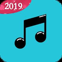 オフライン音楽プレイヤー 無料音楽聴き放題のアプリ:Musicbox ワイワイ ミュージック青 アイコン