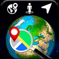Ikon apk 3D Bumi Globe: Dunia Peta Panorama & 360 Satelit
