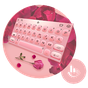 Simple Rose Gold Keyboard Theme 6.2.25.2019