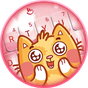Lovely Cute Cat Keyboard Theme 6.3.26.2019