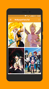 Fond D Ecran Fairy Tail Hd Android Telecharger Fond D