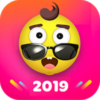 Icône de Fancy Launcher - Funny Emojis & Themes, Wallpapers