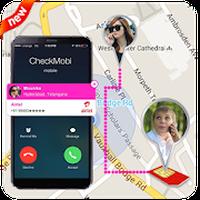 GPS-locatie voor mobiele nummerlocatie icon